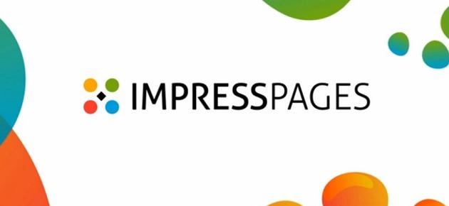 Impress pages turinio valdymo sistema