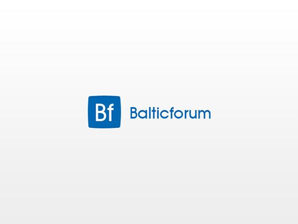 Baltic forum logo interneto svetainės kūrimas