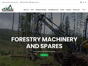 Miško technika interneto svetainės kūrimas
