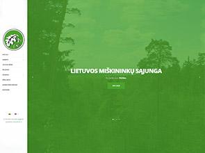 Lietuvos miškininkų sąjunga interneto svetainės kūrimas