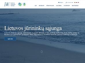 Lietuvos Jūrininkų sąjunga interneto svetainės kūrimas