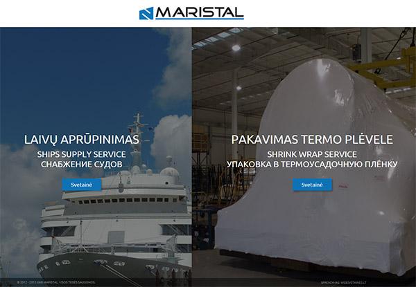 Maristal interneto svetainės kūrimas