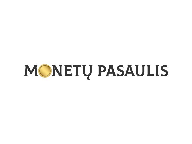 Monetų pasaulis logo interneto svetainės kūrimas