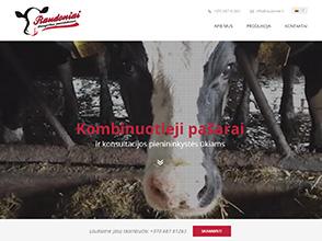 Raudonių ūkis interneto svetainės kūrimas