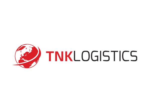 TNK Logistics logo interneto svetainės kūrimas