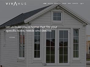 Vivahus - nameliai interneto svetainės kūrimas